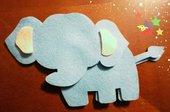 Elefante in Pannolenci da imbottire