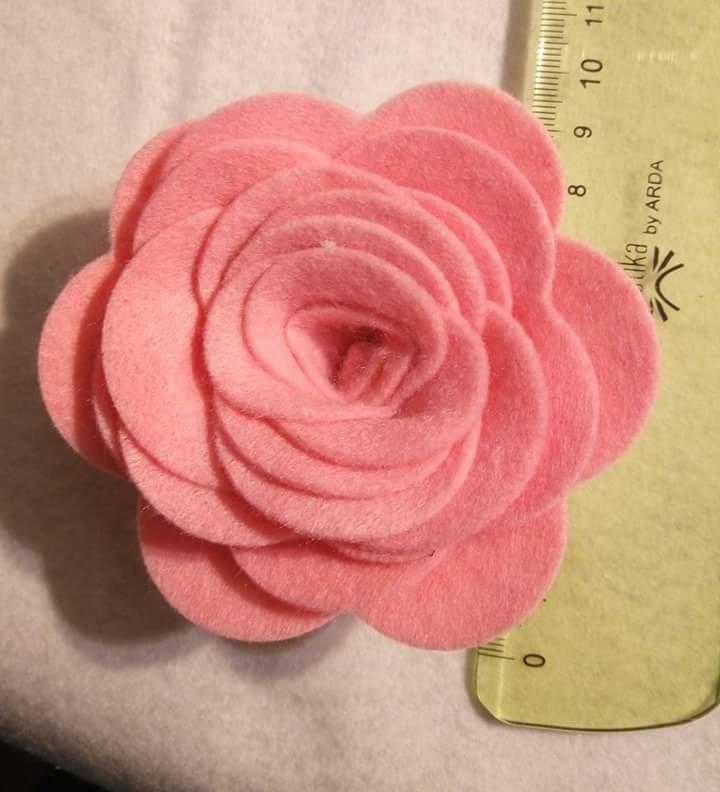 Rosa Grande - Fustellato Pannolenci