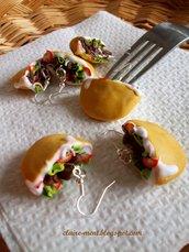 Orecchini con Kebab