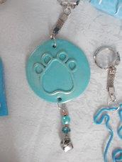 Bomboniere solidali amici animali - zampina azzurra