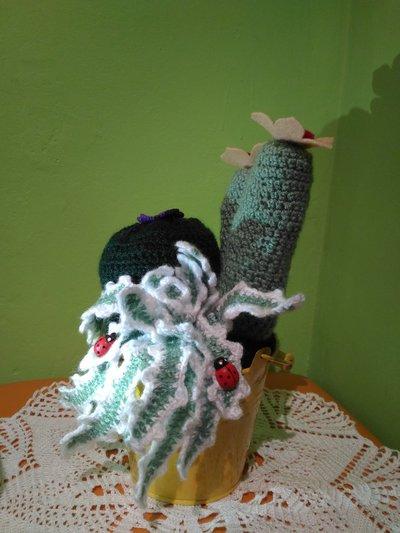 Kaktus-Nadelkissen häkeln | Blumen Häkelanleitung - Amigurumi DIY ... | 533x400