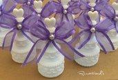 Bolle di sapone decorate per cerimonia by Romanticards