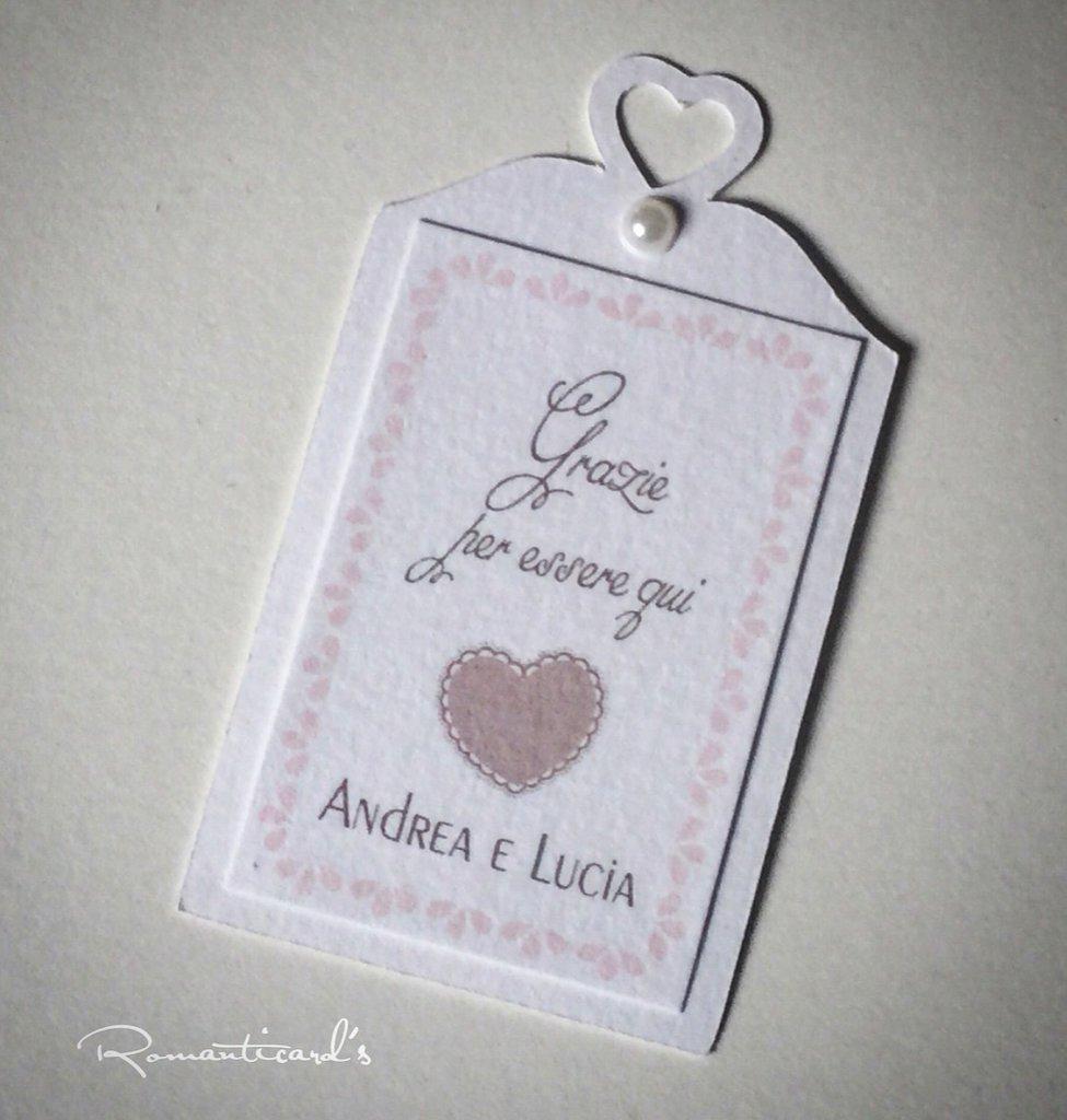 Etichetta per bomboniera by Romanticards