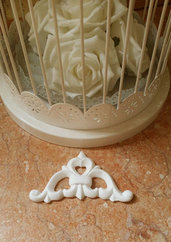 Fregio #1 in resina decorativo per mobili
