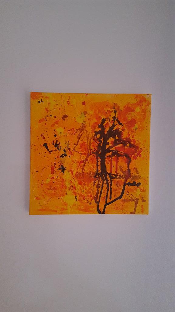 tela  arte astratta 30x30