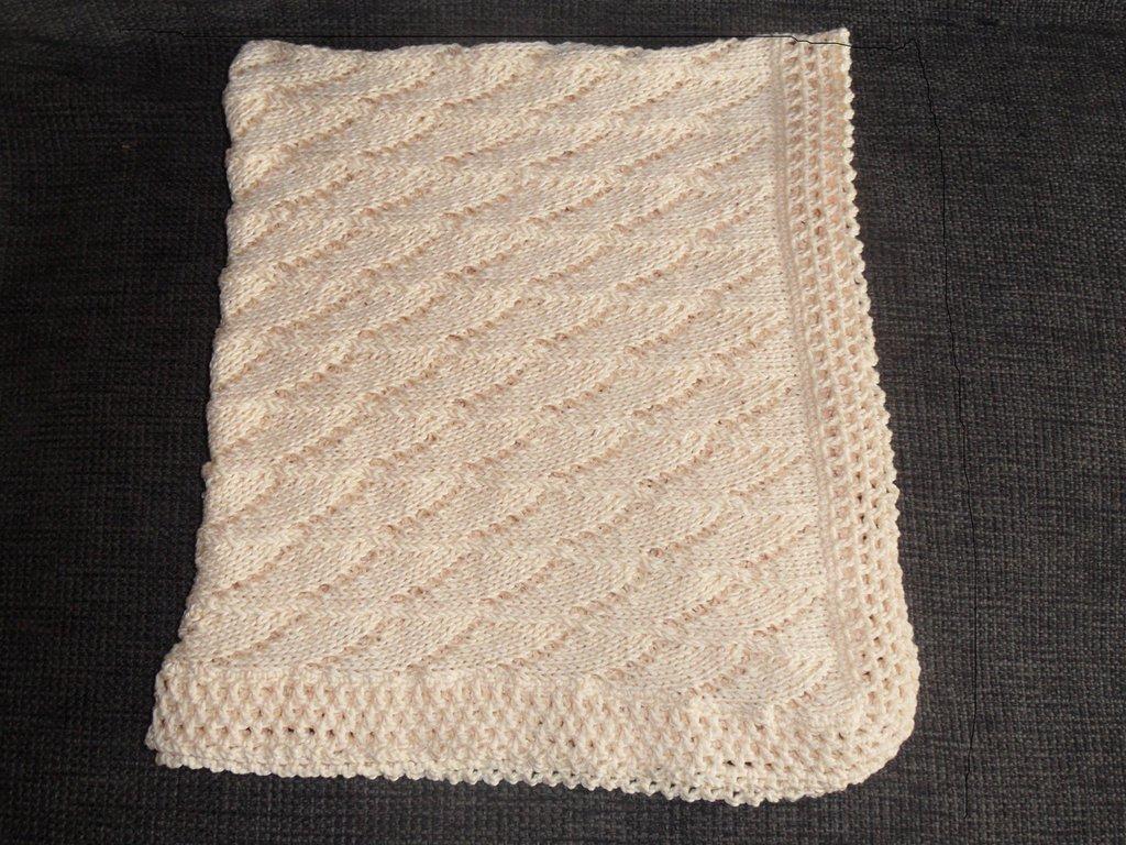 Coperta neonato cotone 100%