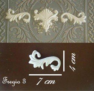 Fregio 3 coppia di riccioli decorativi in resina per mobili pe su misshobby - Fregi per mobili ...