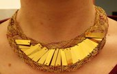 collana tombolo egiziana