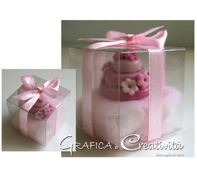 Bomboniera mini cake calamita