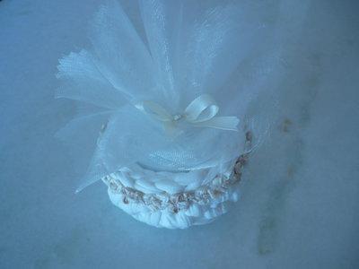 Grziosa bomboniera a forma di ciotolina per nozze e comunione