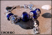 "Bracciale ""Blue Queen"""