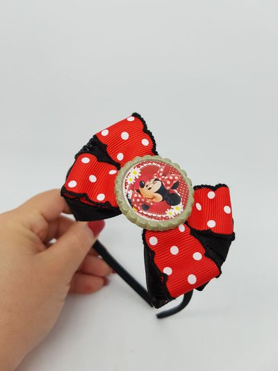 Cerchietto con fiocco Minnie