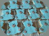 Biscotto orsetto  in pasta di zucchero