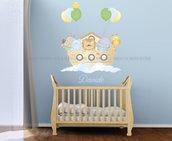 L' arca di Noè Adesivi murali per bambini