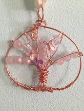 Albero della vita rosa rame