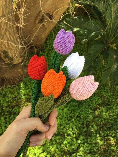 Tulipani colorati amigurumi