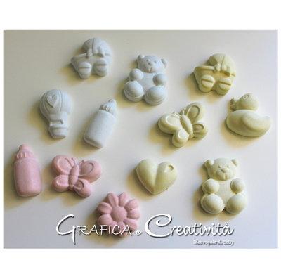 Gessetti colorati per bomboniere