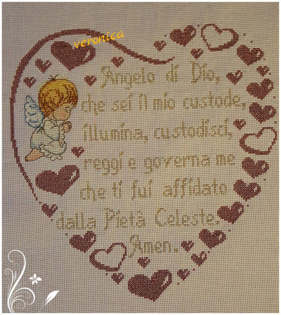 Cuore preghiera ANGELO DI DIO