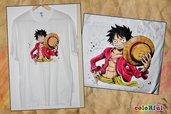 Maglietta con Rufy (One Piece)