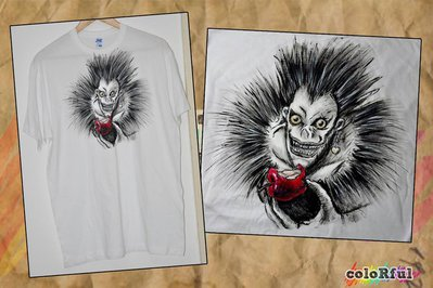 Maglietta con Ryuk (Death Note)
