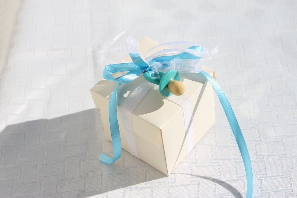 Bomboniera scatola battesimo