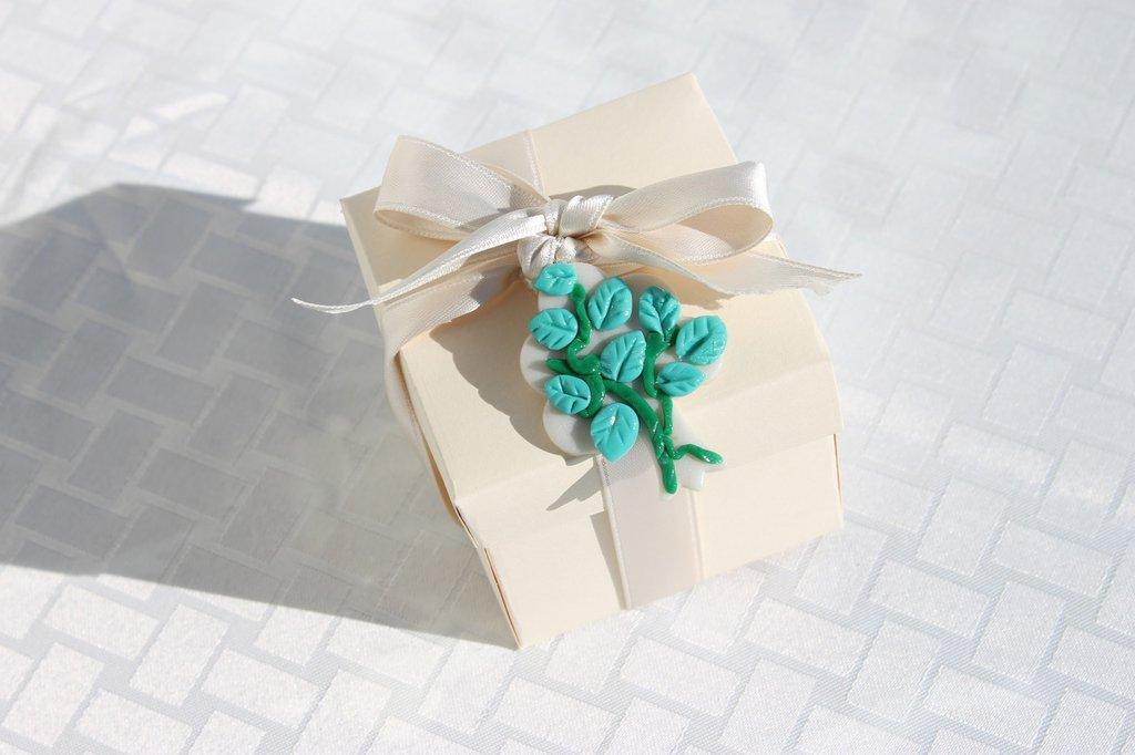 Bomboniera scatola matrimonio