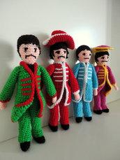 Beatles handmade amigurumi
