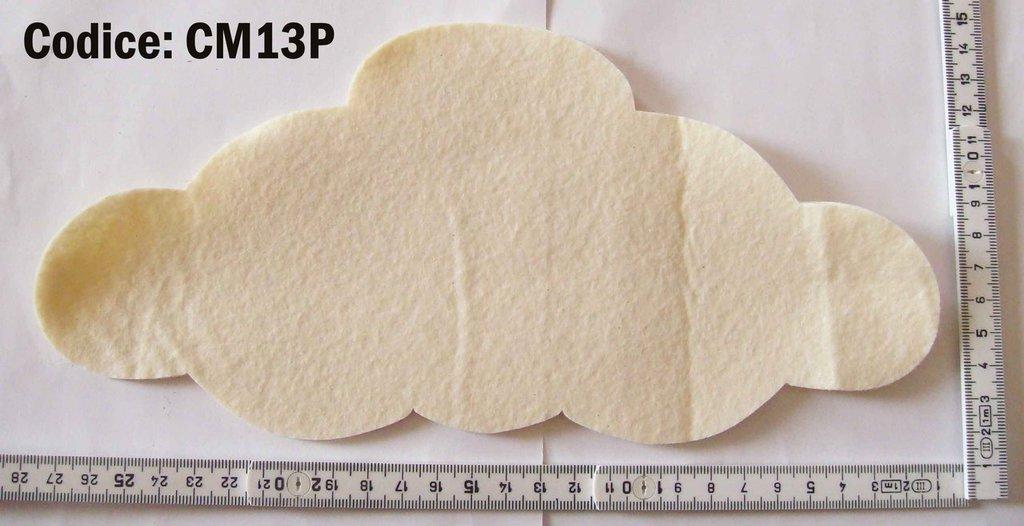 Fustellato Pannolenci Nuvola CM13P