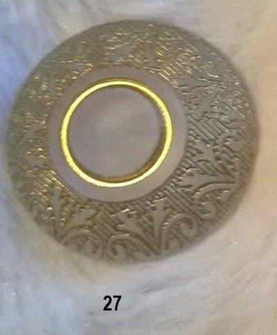 12 bottoni colore ghiaccio mm 27
