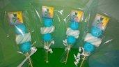 Spiedini in Marshmallow SUPER PIGIAMINI_Personalizzati_NOME ANNI_PJ MASKS