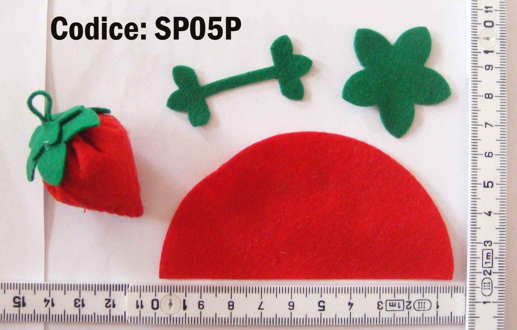 Fustellato Fragolina Pannolenci SP05P