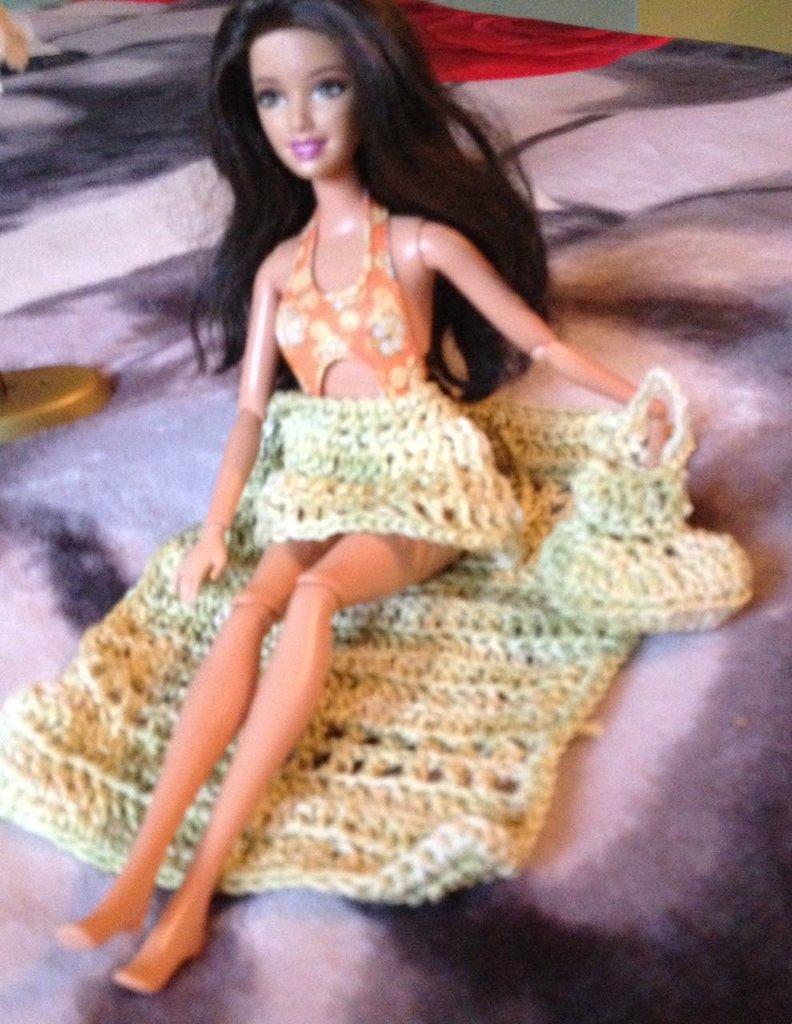 Completino mare per Barbie