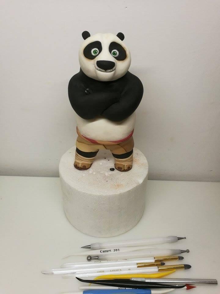 kung fu panda per caketopper