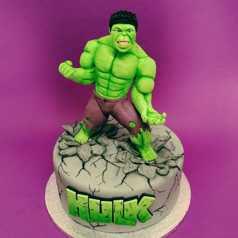 cake toper hulk