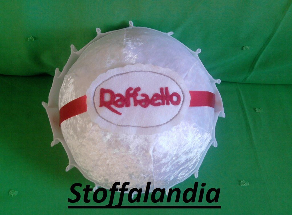 RAFFAELLO CUSCINO IDEA REGALO
