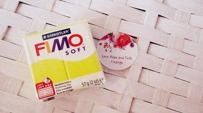 NUOVI ARRIVI! 1 panetto FIMO SOFT color LIMONEn° 10  (57 gr)