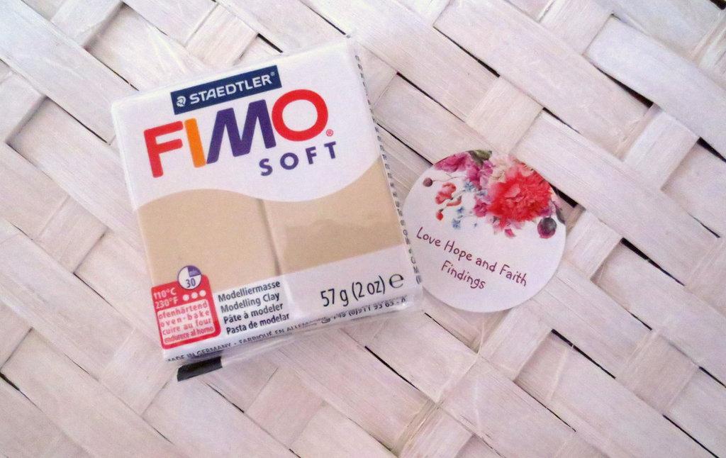 NUOVI ARRIVI! 1 panetto FIMO SOFT color SAHARA  n° 70 (57 gr)
