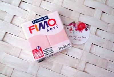 NUOVI ARRIVI! 1 panetto FIMO SOFT color ROSA CHIARO n° 21  (57 gr)