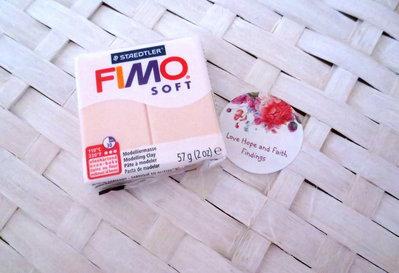 NUOVI ARRIVI! 1 panetto FIMO SOFT color Carne chiara n° 43  (57 gr)