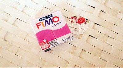 NUOVI ARRIVI! 1 panetto FIMO SOFT color LAMPONE  n° 22 (57 gr)