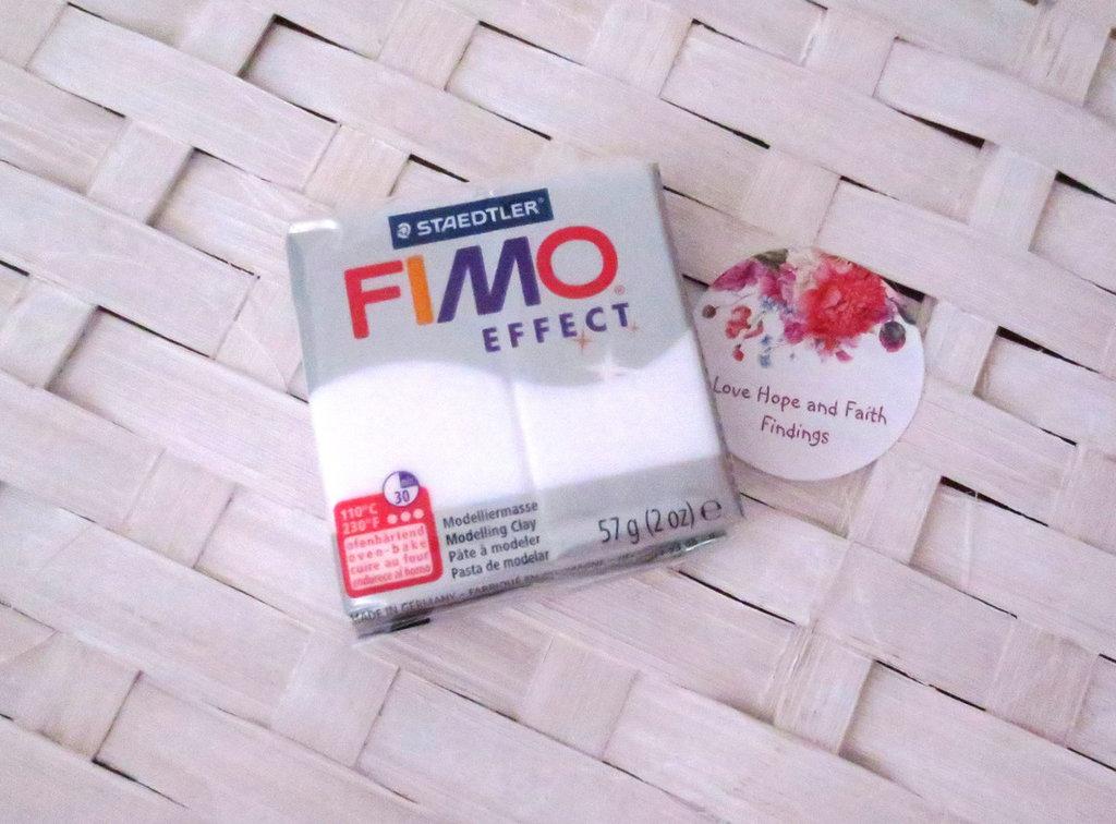 NUOVI ARRIVI! 1 panetto FIMO EFFECT color TRANSLUCENT n°014 (57 gr)