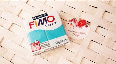 NUOVI ARRIVI! 1 panetto FIMO SOFT color MENTA n° 39 (57 gr)