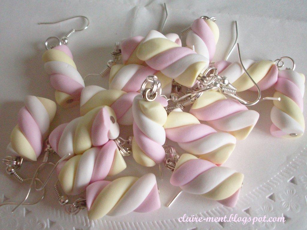 Orecchini con Marshmallow