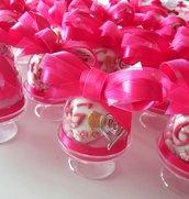 Bomboniera Comunione/ Cresima di  confetti decorati - bomboniera campana - campana confetti - bomboniera alzatine - alzatine porta confetti - confettata comunione - confettata cresima