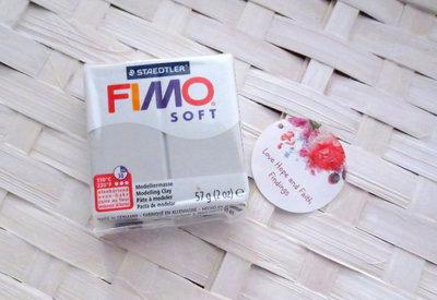 NUOVI ARRIVI! 1 panetto FIMO SOFT color DELFINO n° 80 (57 gr)