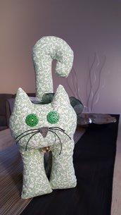 Gatto fermaporta in puro cotone