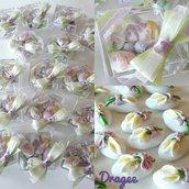 Confettata nascita - confettata battesimo - confettata comunione - confetti decorati - bomboniere comunione - bomboniere nascita - bomboniere battesimo - segnaposto battesimo - comunione - idee bomboniere