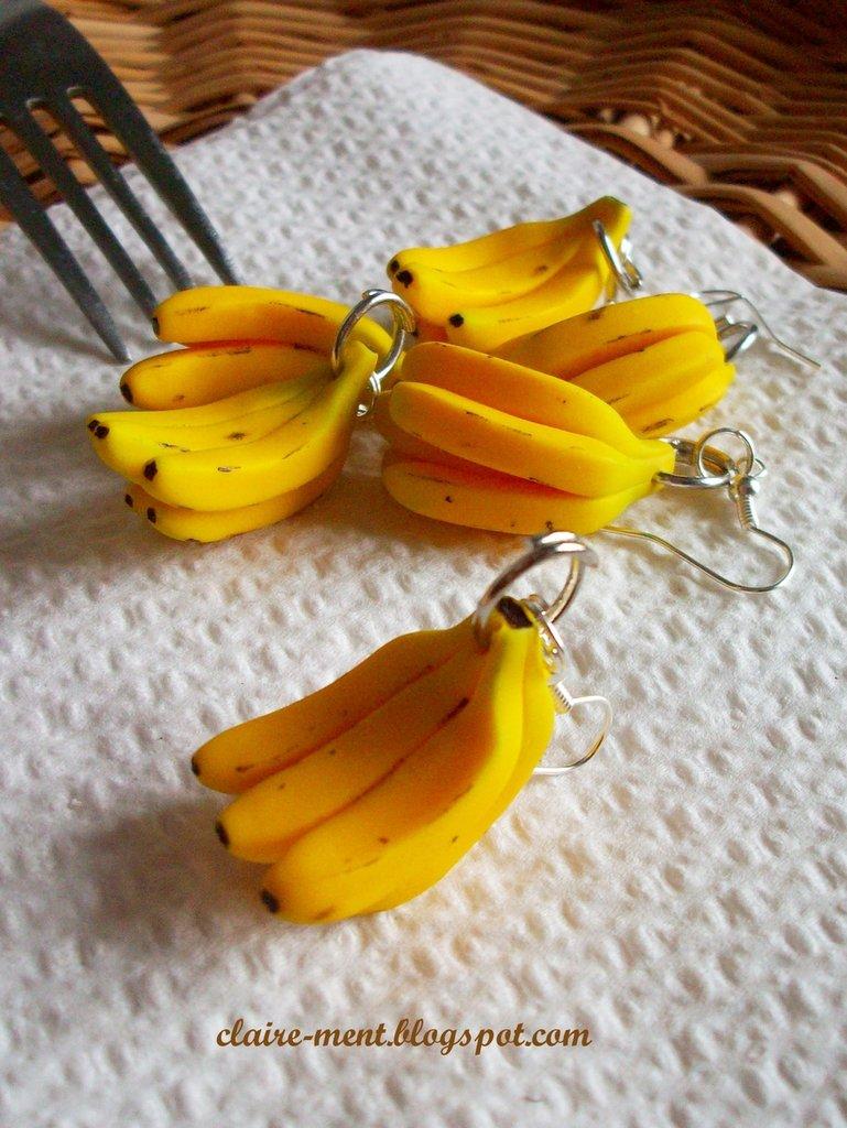 Orecchini con Banana
