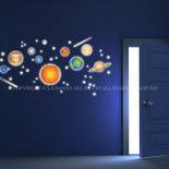 Sistema solare adesivi fluorescenti da muro per la camera dei tuoi bambini