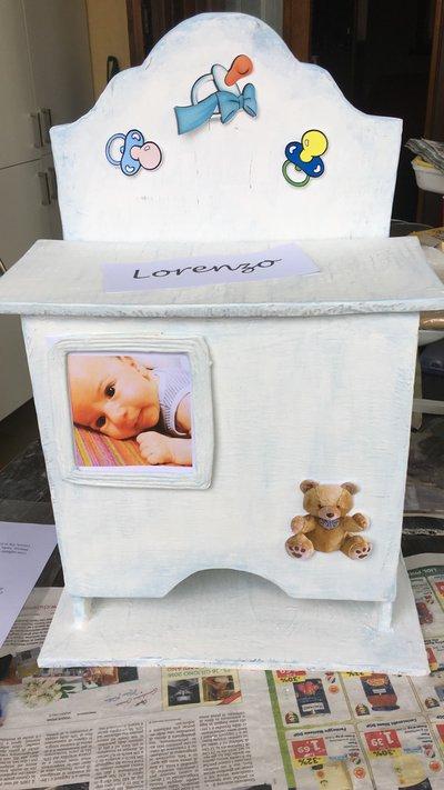 porta pannolini neonati